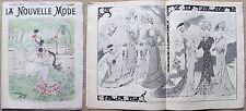 La Nouvelle MODE, N.29, 1899_Rivista di moda illustrata con paginone centrale* >