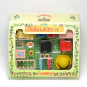 Sylvanian Families ELEMENTARY SCHOOL COMMUTING S-06 1997 Epoch Calico Critters