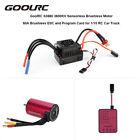 GoolRC S3660 3800KV Sensorless Brushless Motor Card Combo Set For 1/10 Car H4R8