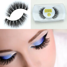 Wholesale Black Real Mink Long Natural Thick Eye Lashes False Eyelashes-014