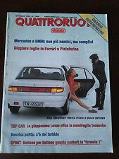 Quattroruote n 456 ottobre 1993 - Lexus LS 400, BMW 740, Mercedes S 320