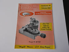 "VINTAGE ENGINE COLLECTORS JOURNAL  FEBRUARY 2002 O&R 33  JUDCO ""46""   *VG-COND*"