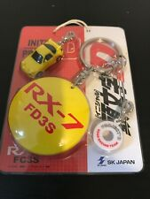 initial d Key Holder OFFICIAL JAPAN NEW RARE!! RX-7 Model
