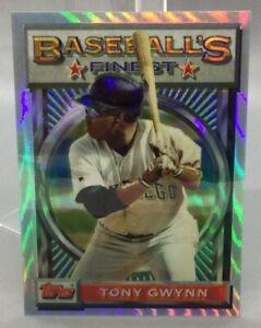 1993 Topps Refractor - Tony Gwynn - Baseball Card