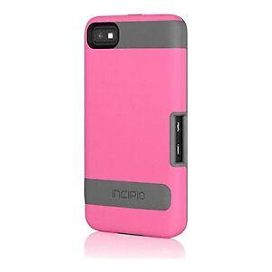 Incipio Protective Flexible Hard-Shell Cover Case for BlackBerry Z10 - Pink/Gray