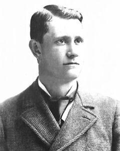 1900s Philadelphia Phillies ED DELAHANTY Reprint 8x10 Photo Baseball Portrait