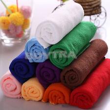 Verschiedene Größen Mikrofaser Bad Dusche Waschlappen Handtuch ^