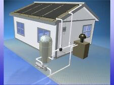4 4'x12' Inground Pool Solar Panels W/Roof Kits 10 yr (8 panels x 2' wide x 12')