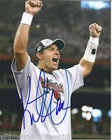 ST LOUIS RAMS KURT WARNER SIGNED 8X10 PHOTO W/COA ARIZONA CARDINALS NFL MVP