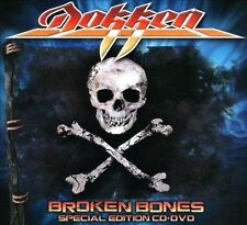 Broken Bones DOKKEN CD + DVD LTD EDITION ( FREE SHIPPING)