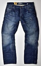 G-STAR RAW-Skiff 5620 3D Tapered Herren Jeans Medium Aged-W30 L34 Neu !!