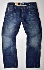 G-STAR RAW-Skiff 5620 3D Tapered Herren Jeans Medium Aged-W30 L34 Neu !!
