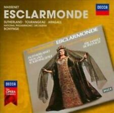 Massenet: Esclarmonde 3-Disc Set w/ Artwork MUSIC AUDIO CD classical opera 2011