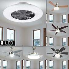 LED Decken Ventilator FERNBEDIENUNG Tageslicht DIMMER Lampe Timer Luft Kühler