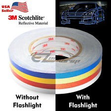 3m Reflective Tape Safety Self Adhesive Striping Sticker Decal 1cmx150ft Roll