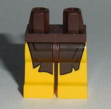 LEGS 007 Lego Yellow Legs with Dark Brown Loincloth NEW Boy Girl Jungle 8831