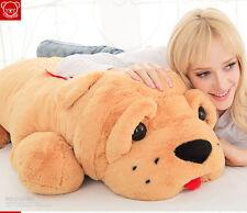"35"" Giant  big shar pei dog doll pillow stuffed animal olush soft toy doll gift"