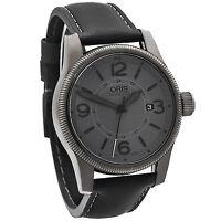 Oris Big Crown Date Stealth Grey Automatic Men's Watch 733-7629-4263LS