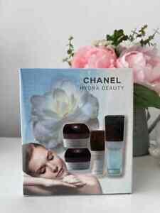 CHANEL Hydra Beauty set 4 in 1 (Cream, Gel Cream, Yeux, Serum) new in gift box