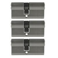 3x Profilzylinder 65mm 30/35 15x Schlüssel Tür Zylinder Schloss gleichschließend