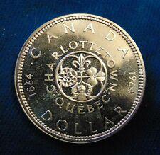 CANADA HIGH GRADE Canadian 1964 .800 silver dollar BU-PL ?
