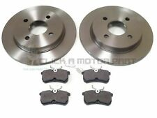FORD FIESTA MK7 1.6 ST180 ST 180 2012-2017 REAR 2 BRAKE DISCS AND PADS SET NEW