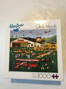 Charles Wysocki Four Aces Flying School 1000 Piece Puzzle