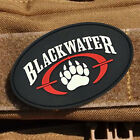 3D PVC BLACK WATER. LOGO WOLF PAW TACITCAL MORALE BADGE SWAT RUBBER HOOK PATCH