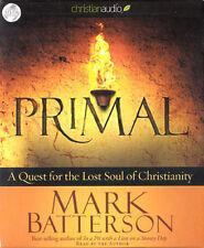 NEW Sealed Christian AUDIO 6 CDs - Unabridged! Primal - Mark Batterson