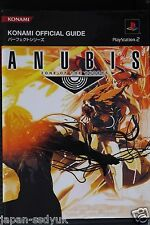 Zone of the Enders Anubis KONAMI Perfect Guide w/Poster
