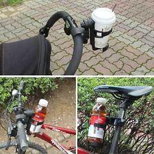 New Kids Milk Bottle Cup Baby Bottle Holder for Baby Stroller Pram Pushchair B