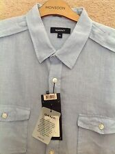 GANT Linen Collared Casual Shirts & Tops for Men