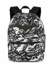 "DC Comics Batman Comic Print 16"" School Backpack - Black & White - Heroes"