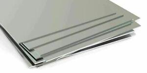 Edelstahlplatte 1mm-3mm V4A Blech Aisi 1.4571 Zuschnitt von 100 mm bis 2000 mm