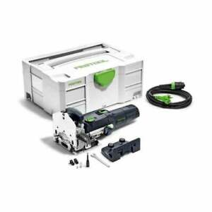 Festool DF500Q-PLUS 110v Domino Joining Machine 574329 In Systainer 16AMP PLUG