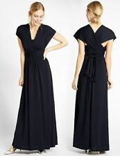 M&S Multiway Strap Maxi Dress 8/10/12/20 Black