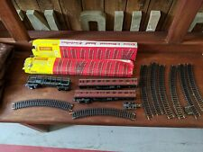 Hornby Track Extension Packs B & C with extra track and carriages
