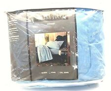 Vintage Ultra Touch by Stephens King Size Bedskirt Color Blue Iris 121T Usa