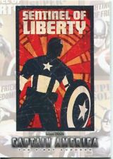 Captain America The Movie Poster Series Chase Card P-8
