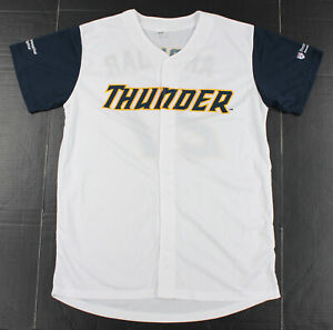 Trenton Thunder Minor League Baseball Jersey Mens M Medium Miguel Andujar White