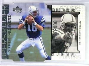 1998 Upper Deck Super Powers Die Cut Peyton Manning #D1989/2000 #S16 *80207