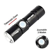 Brinyte S68 2500 lumen torch 3x Cree XM-L2 led.
