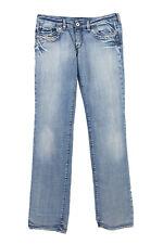 Vintage Diesel Straight Leg Low Waist Denim Jeans 90s W28 L34 Ice Blue - J392...