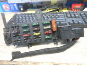 1998 Mercedes Benz W140 S420 S500 Rear Relay Fuse Box 1405454840 1405451740