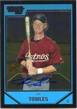 2007 Bowman Chrome J.R. Towles On Card Prospects Autograph Houston Astros