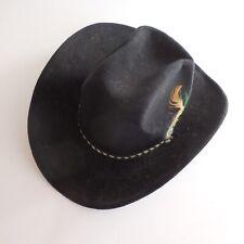 Chapeau Pigalle HECHO EN Mexico BELRI HATS fait main vintage design XXe N4402