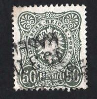 "Allemagne -  N°35A -"" BRONZE COLOR "" used-   CV : 25 €"