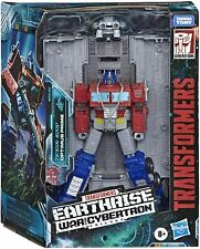 Transformers Cybertron Earthrise Leader WFC-E11 Optimus Prime 7 inch