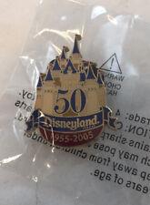 Disneyland 50 years Castle Cast member Annual report Wdw Disney Pin