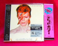 David Bowie Aladdin Sane MINI LP CD JAPAN TOCP-70145 + PROMO OBI